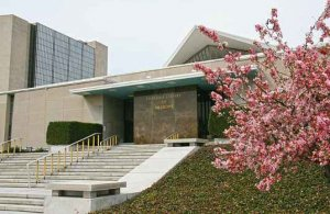 The National Library of Medicine buildings in Bethesda, Maryland.